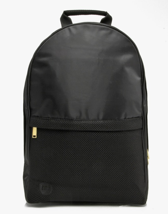 Mi-Pac Maxwell Satin Mesh Backpack - Black