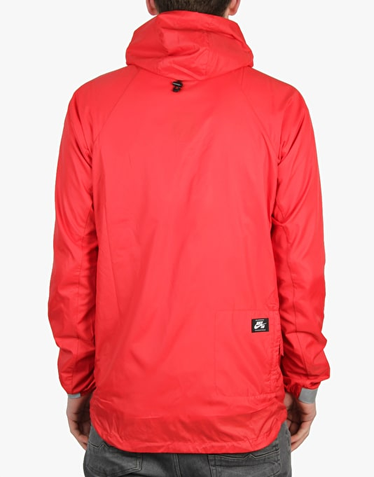 Nike SB Steele Lightweight Jacket - Gym Red