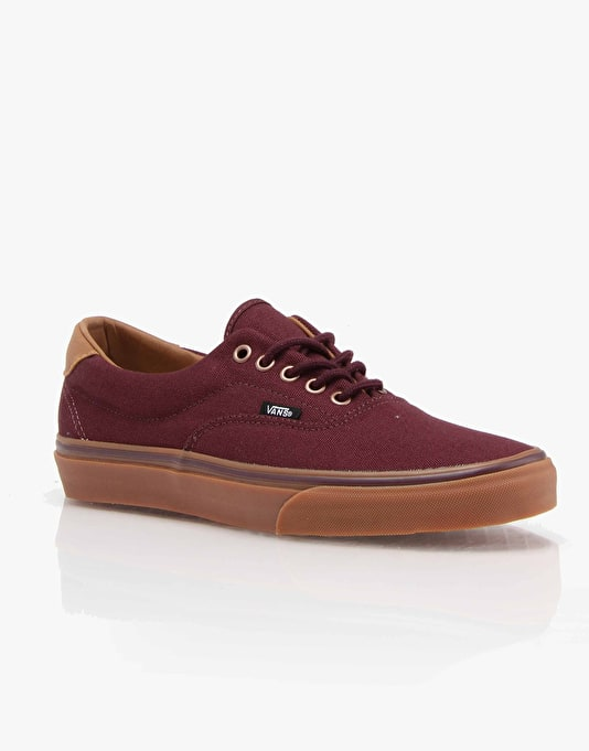 Vans Era 59 Skate Shoes - (C&L) Winetasting/Classic Gum