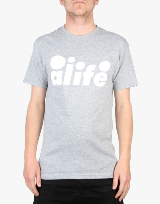 Alife Bubble T-Shirt - Heather Grey