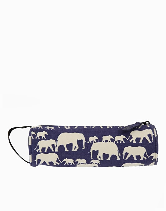 Mi-Pac Pencil Case - Elephants Blue