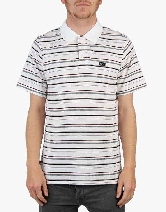Fourstar Malone Polo Shirt - White