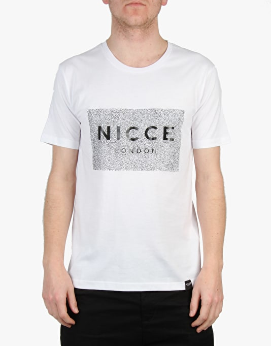 Nicce White Noise Box T-Shirt - White