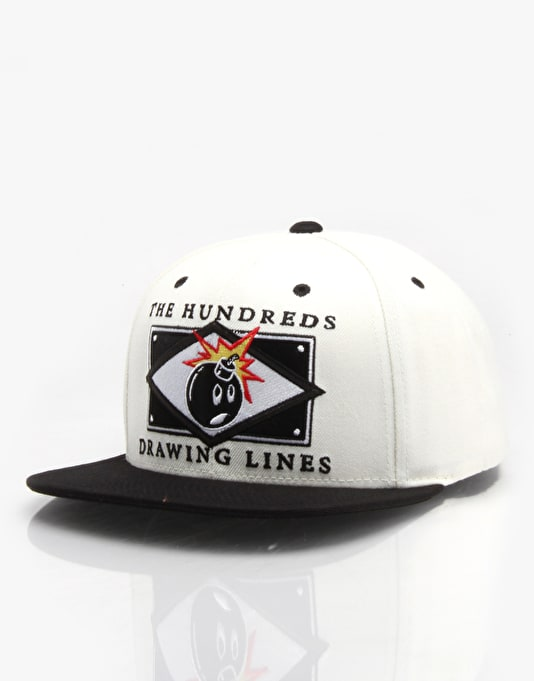 The Hundreds Series Snapback Cap - Black