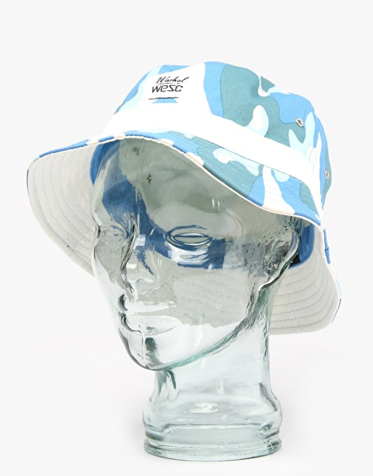 WeSC x Andy Warhol Reversible Bucket Hat - Camo 1