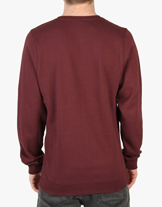 Diamond Supply Co. Life Crewneck - Burgundy