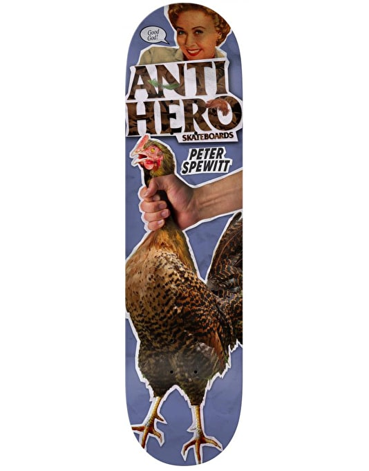 Anti Hero Hewitt Party of One Pro Deck - 8.5""
