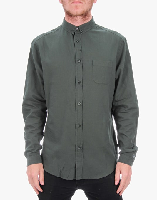 Globe Goodstock Oxford Shirt - Pineneedle
