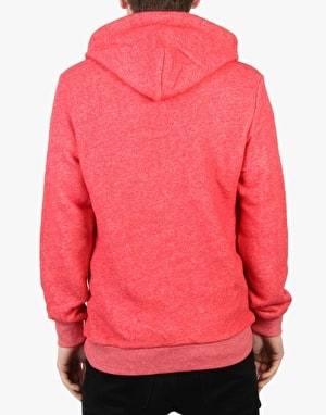 Crooks & Castles Champagne and Cocaine Pullover Hoodie - Speckle Red