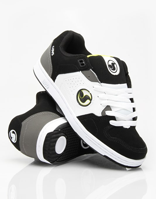 DVS Discord Skate Shoes - Black/Lime