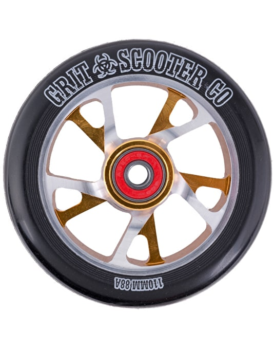 Grit Bio Core (inc ABEC 9 Bearings) Scooter Wheel - 110mm