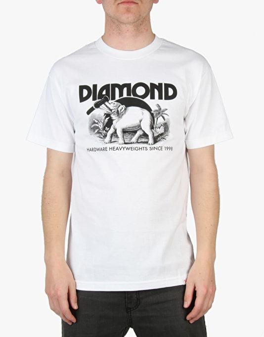Diamond Supply Co. Ivory T-Shirt - White