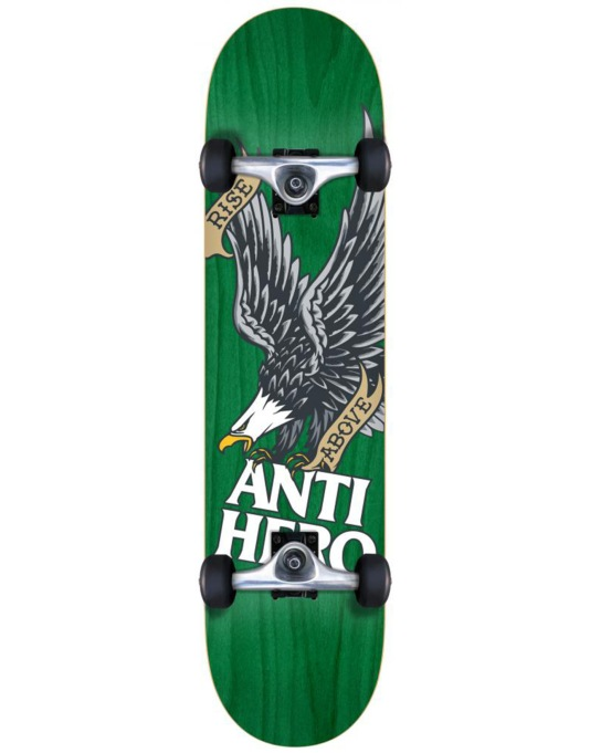Anti Hero Rise Above Woodgrain Mini Complete - 7.3""