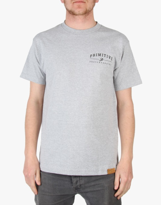 Primitive Core Logo T-Shirt - Athletic Heather
