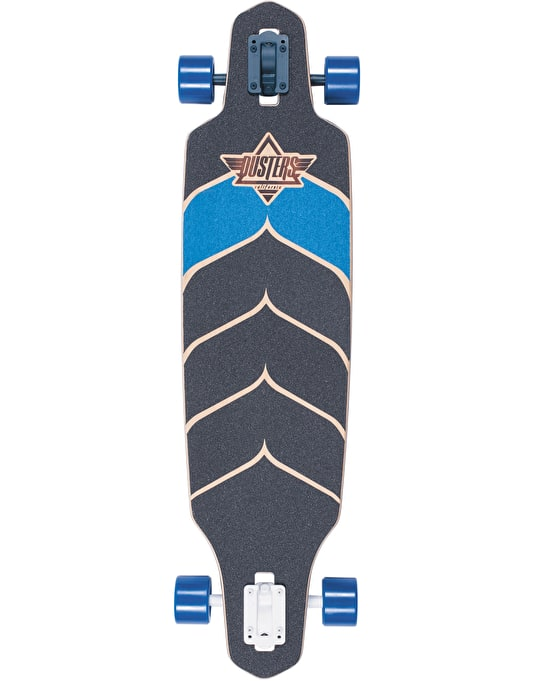 "Dusters x Kryptonics Wake Drop Through Longboard - 38"" x 9.375"""