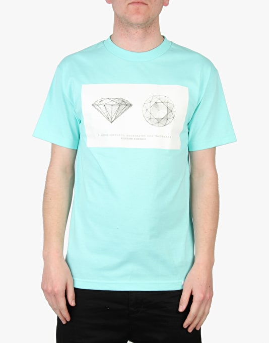 Diamond Supply Co. Trademark T-Shirt - Diamond Blue