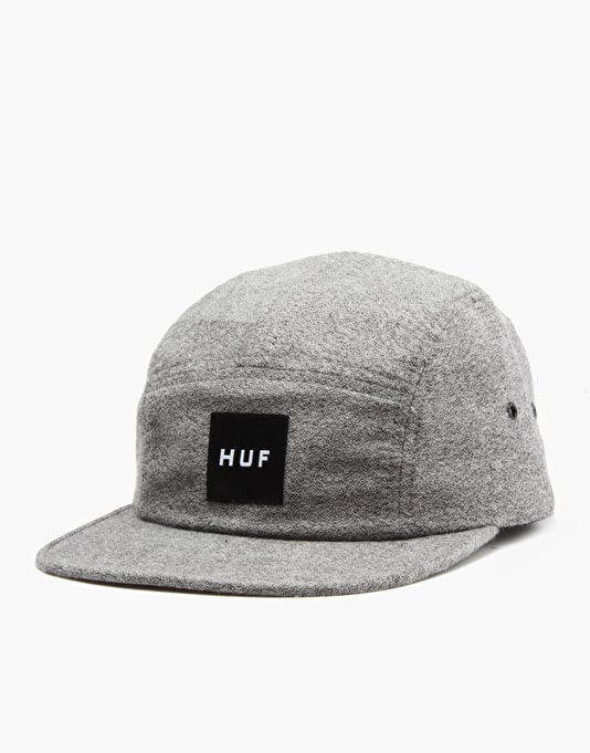HUF Melange Volley 5 Panel Cap - Light Heather