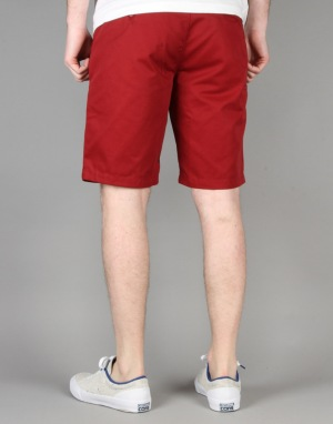 Volcom Frozen Regular Chino Shorts - Burgundy