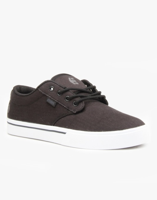 Etnies Jameson 2 Eco Skate Shoes - Black/White/Gum