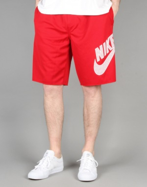 Nike SB Sunday Shorts - Gym Red/White