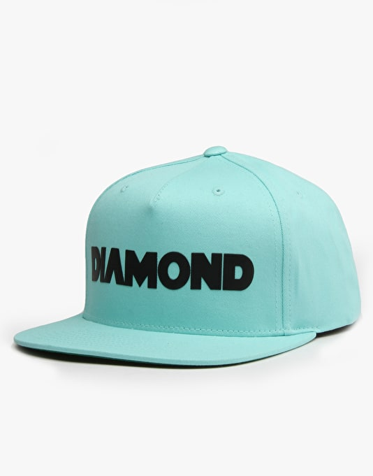 Diamond Supply Co. Track Snapback Cap - Diamond Blue
