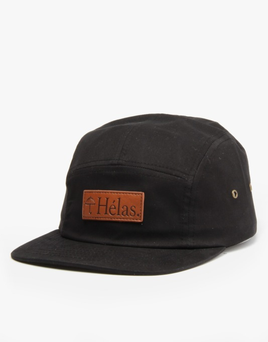 Hélas Capone 5 Panel Cap - Black