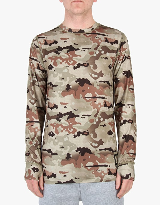 Burton Lightweight Crew 2015 Thermal Top - Birch Camo