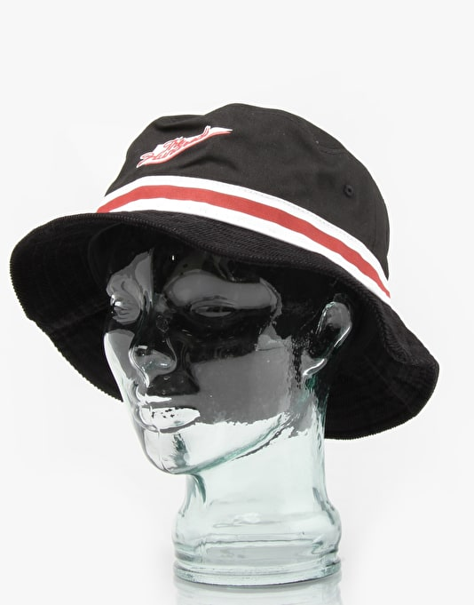 The Hundreds Carmen Bucket Hat - Black/White/Red