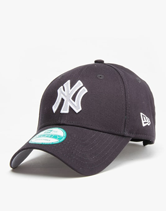 New Era MLB New York Yankees Team Check 9Forty Snapback Cap - Navy