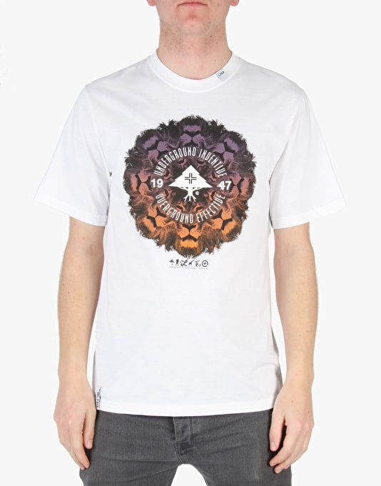 LRG Lion Chamber T-Shirt - White