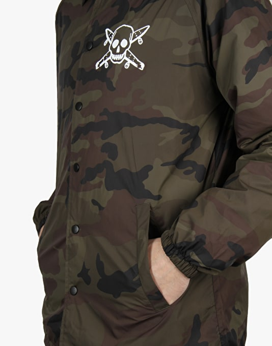 Fourstar Pirate Coach Jacket - Camo