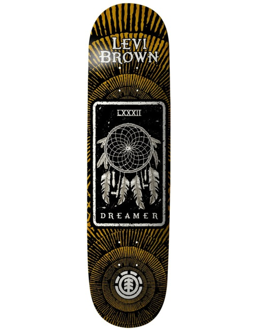 Element Levi Tarot Card Thriftwood Skateboard Deck - 8.125""