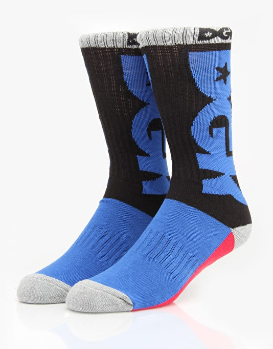 DGK Hustle Sport Socks - Black