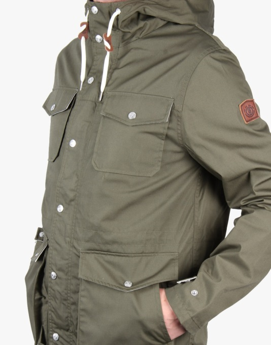 Element Hemlock Jacket - Military Green