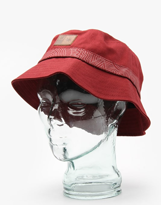 DC Debater Bucket Hat - Burgundy