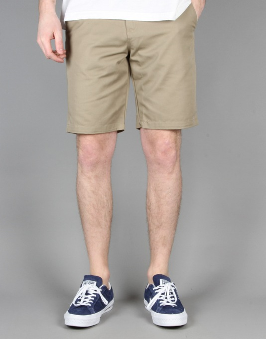 Volcom Frozen Regular Chino Shorts - Khaki