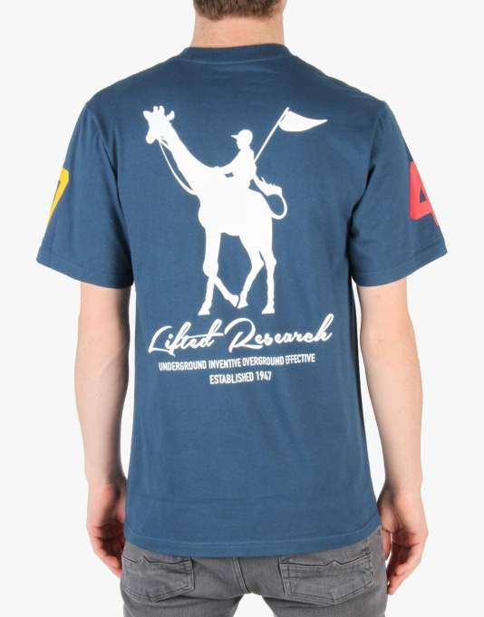 LRG RC Derby T-Shirt - Nautical Blue
