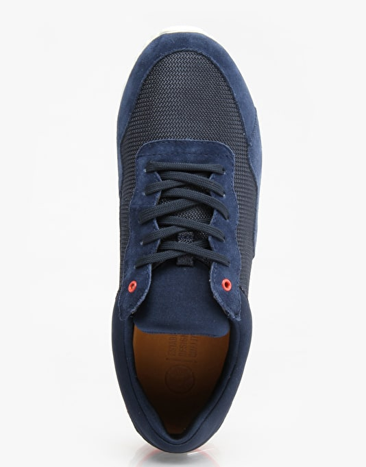 Clae Hoffman Shoes - Midnight Suede/Deep Navy Mesh