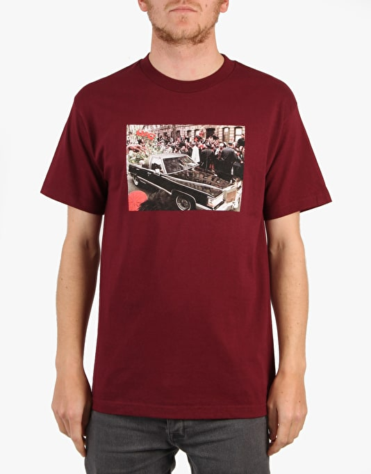 Acapulco Gold R.I.P. Big T-Shirt - Burgundy