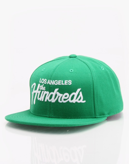 The Hundreds Forever Team Snapback Cap - Green