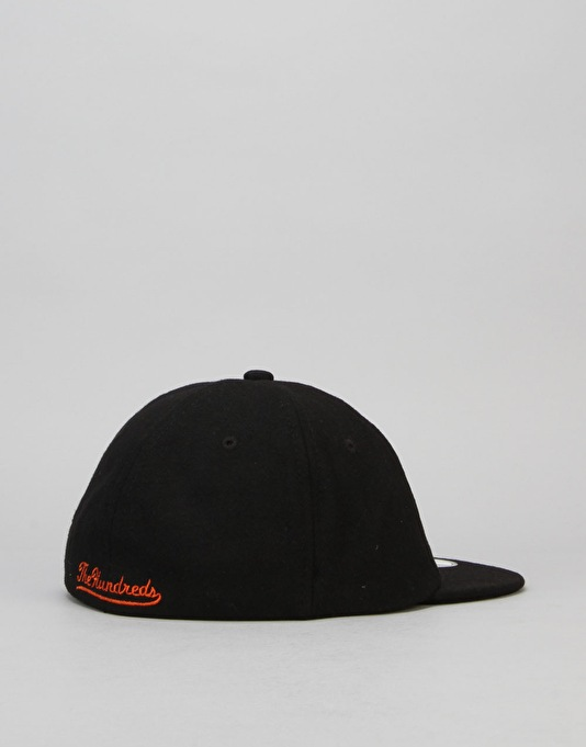 The Hundreds x New Era Classic 19Twenty Fitted Cap - Black