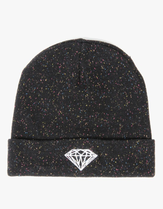 Diamond Supply Co. Brilliant Beanie - Black Speckle