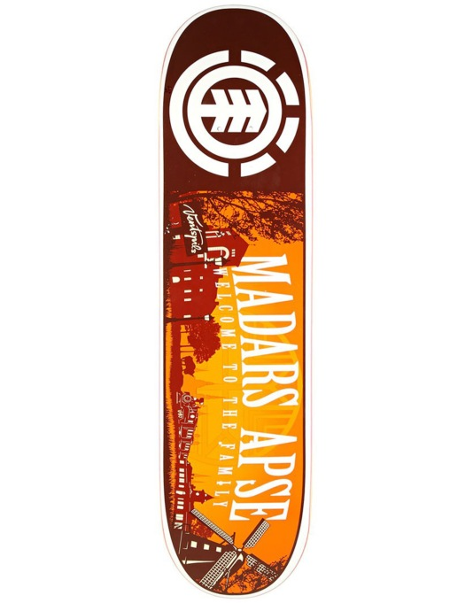 Element Madars Welcome Featherlight Pro Deck - 8""