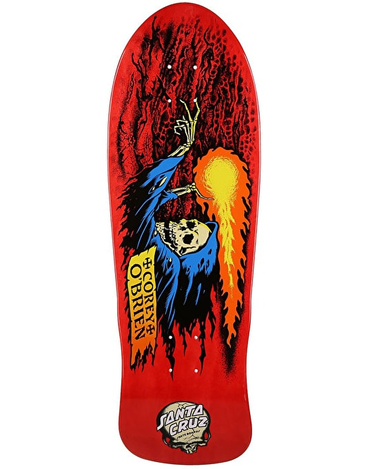 Santa Cruz O'Brien Reaper Retro Pro Deck - 9.85""
