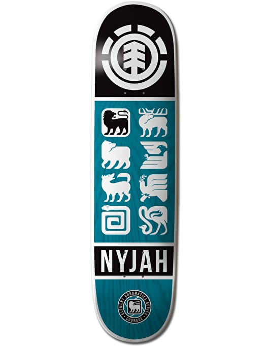Element Nyjah Ascend Featherlight Pro Deck - 8""
