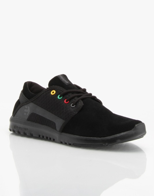 Etnies Scout Shoes - Black/Black/Grey