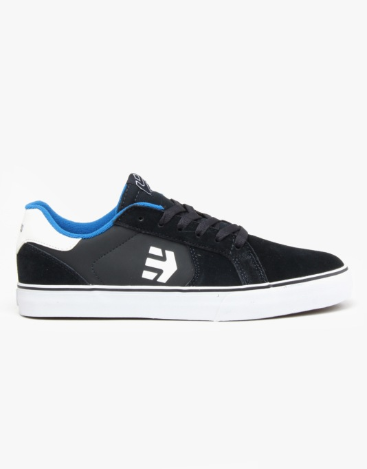 Etnies Fader LS Vulc Skate Shoes - Navy/Blue/White