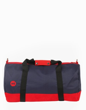 Mi-Pac Classic Duffel Bag - Navy/Red/Red
