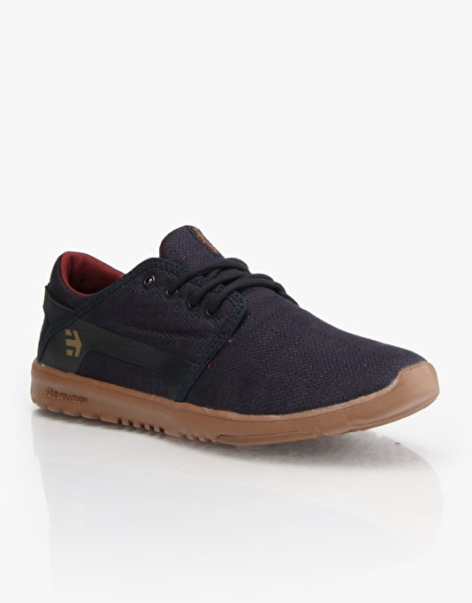 Etnies Scout Skate Shoes - Navy/Gum