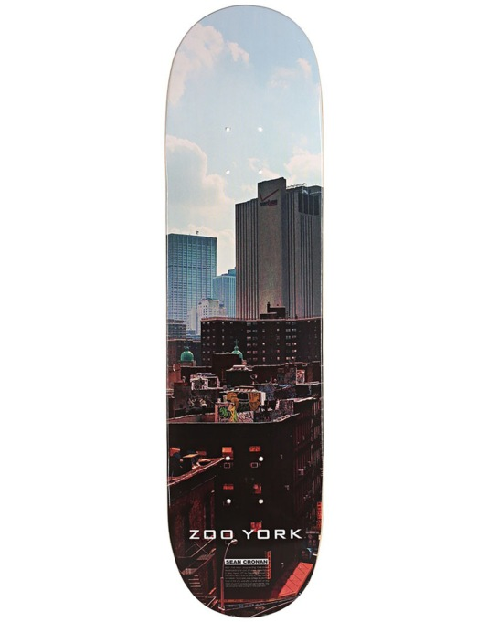 Zoo York Cronan Triple Set 1 Team Deck - 8""